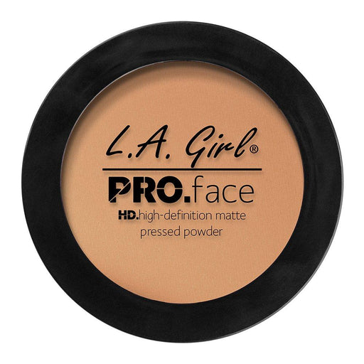 La Girl Pro Face Matte Pressed Powder, Gpp607 Warm Honey