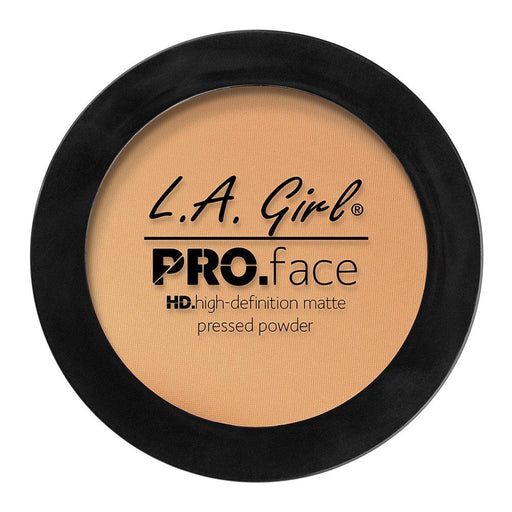 La Girl Pro Face Matte Pressed Powder, Gpp610 Classic Tan