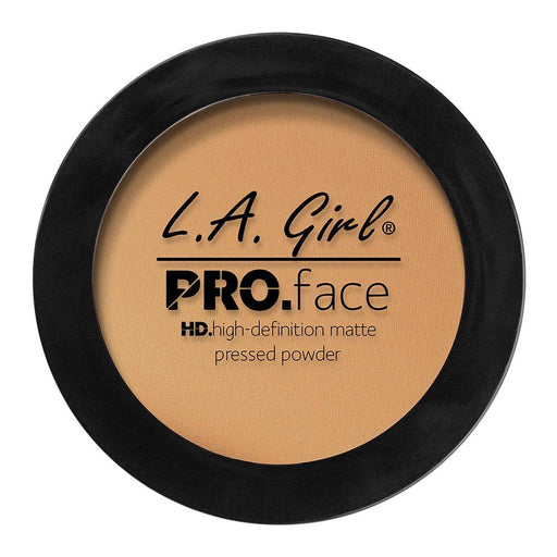 La Girl Pro.Face Matte Pressed Powder True Bronze