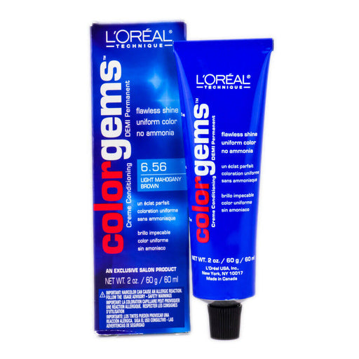 L'oreal Color Gems Haircolor 6.65 Light Mahogany Brown 2 Oz