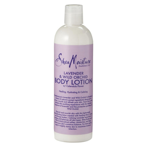 Shea Moisture Body Lotion, Lavender & Wild Orchid 13 Oz