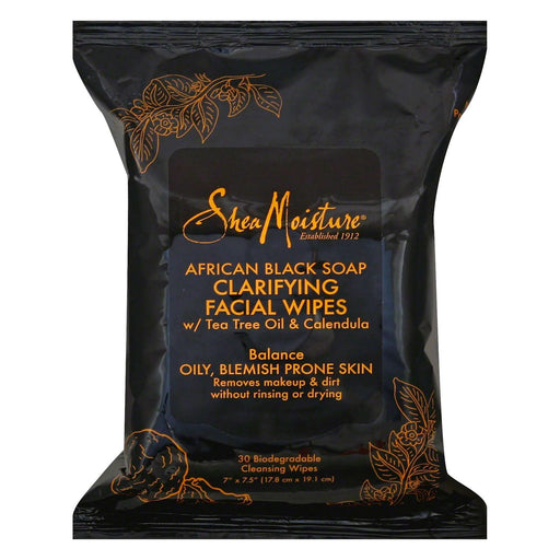 Shea Moisture African Black Soap Facial Wipes