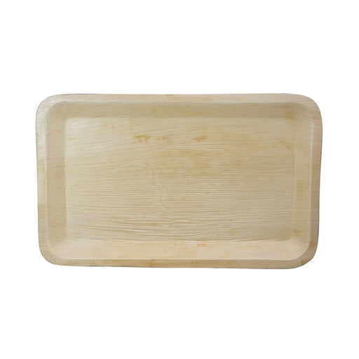 "16""L x 10""W Palm Leaf Rectangle Tray"