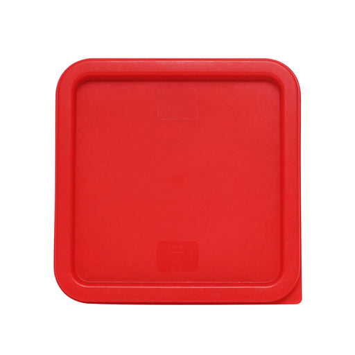 Plastic Square Lid For 6 Qt & 8 Qt, Red, total 12 Counts