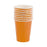 9 oz Orange Party Disposable Paper Cups