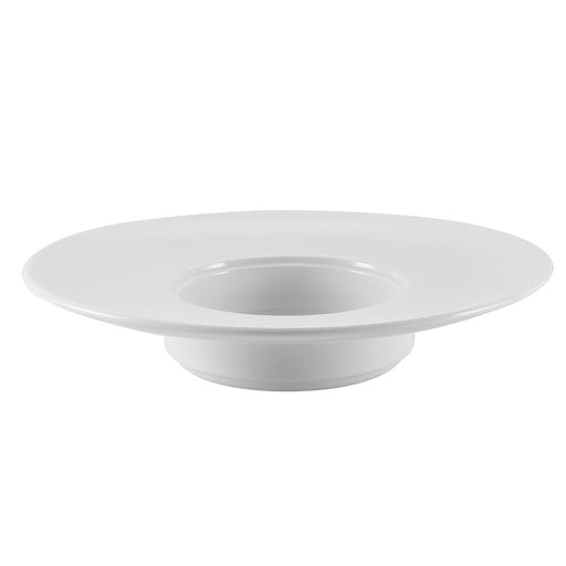 "RCN Specialty Item, Wide Rim Pasta Bowl 5 Oz. 9""Dia. X 1-3/4""H, Porcelain, White"