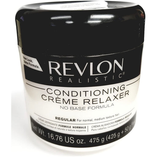 Revlon Realistic Conditioning Creme Relaxer No Base Regular 16.76 Oz.
