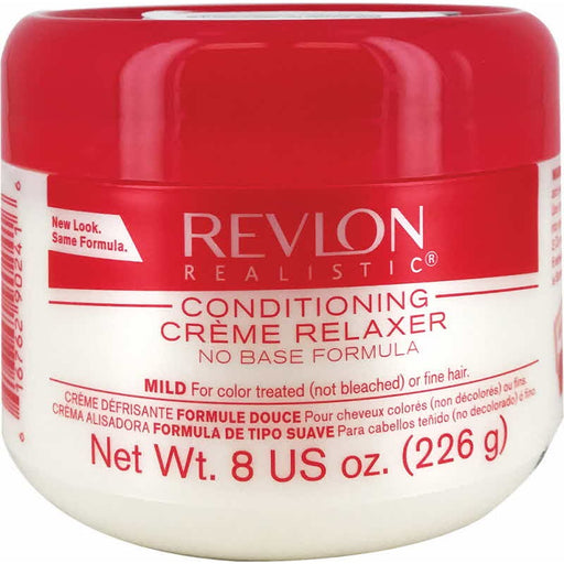 Revlon Realistic Conditioning Creme Relaxer No Base Mild 8 Oz.