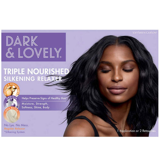 Dark And Lovely Healthy Gloss 5 Relaxer Nolye Regular