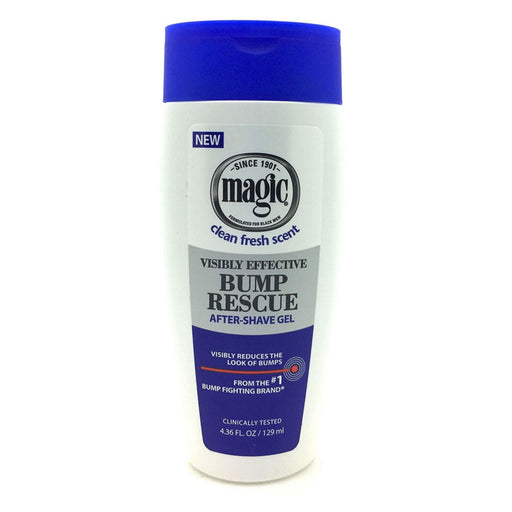 Magic Bump Rescue After Shave Gel Visibly Effective 01140 4.36oz