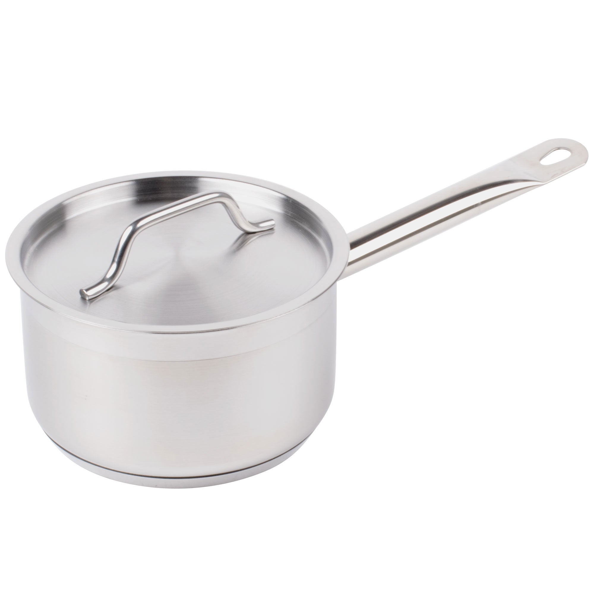 3 1/2 Qt 18/8 Stainless Steel Sauce Pan With Cover