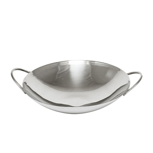 "8"" Stainless Steel Wok Only"