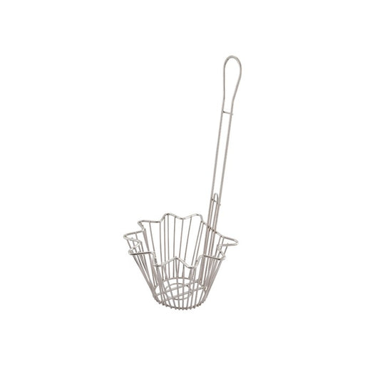 "Taco Salad Bowl Fry Basket, Round, 18"" Handle"