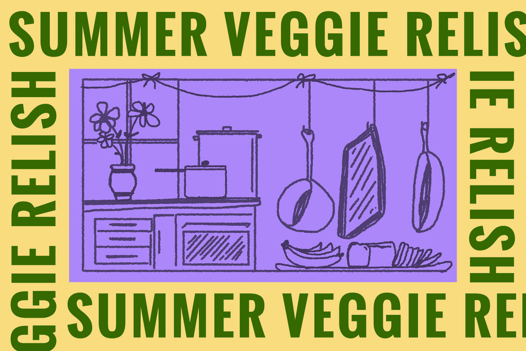 2-Step Recipe: Summer Veggie Relish