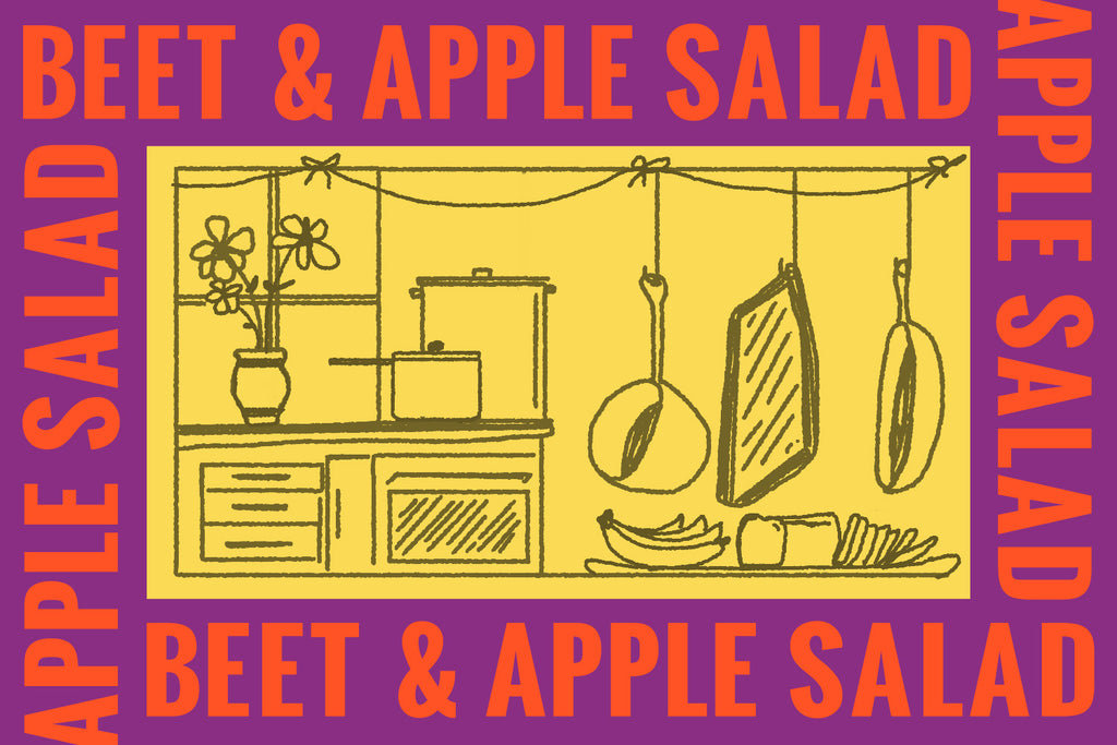 2-Step Recipe: NY Beet & Apple Salad