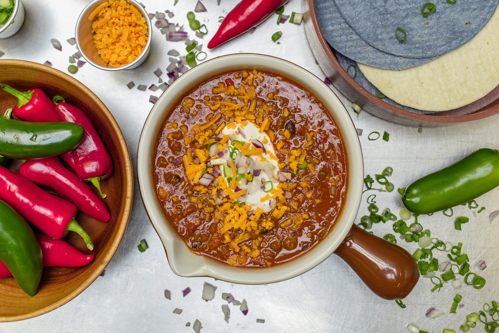 Chef Anup's Beef Chili Kettle
