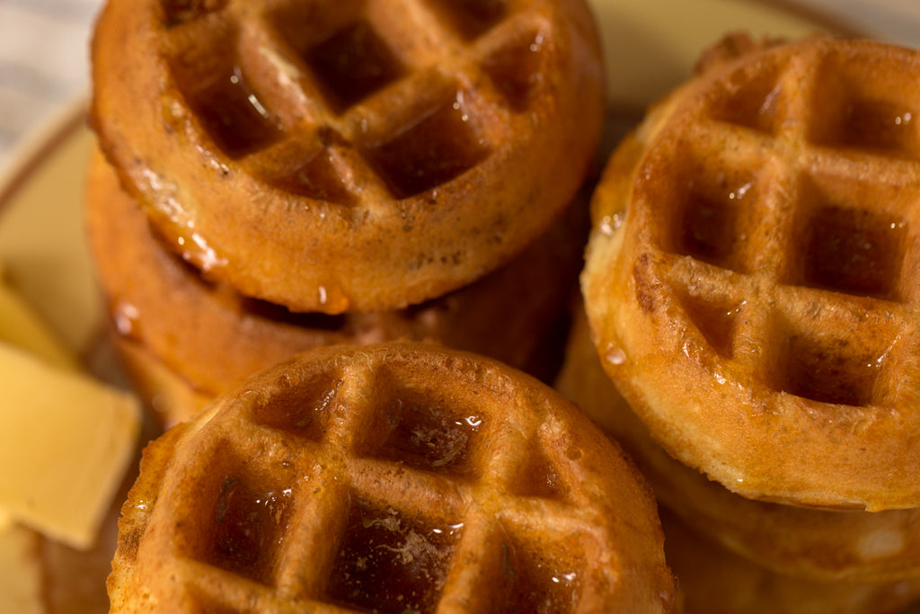 Buttermilk Waffles & Maple Syrup