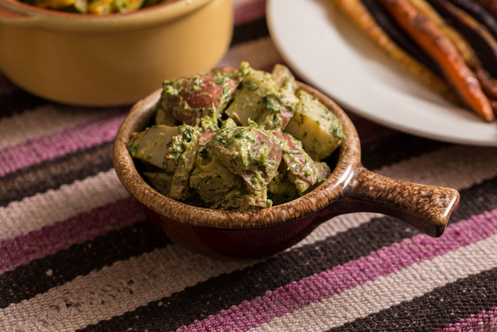 Green Herb Potato Salad