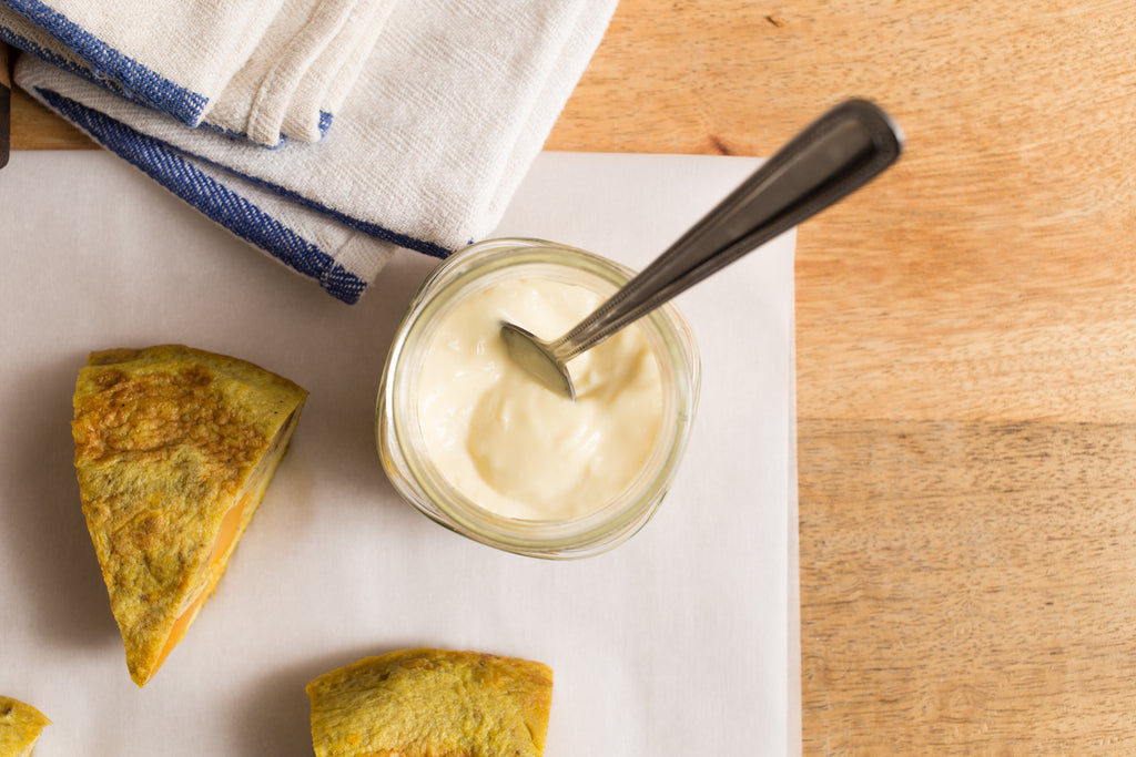 Sweet Potato Frittata & Garlic Aioli