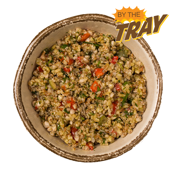 Mediterranean Style Whole Grains - Tray