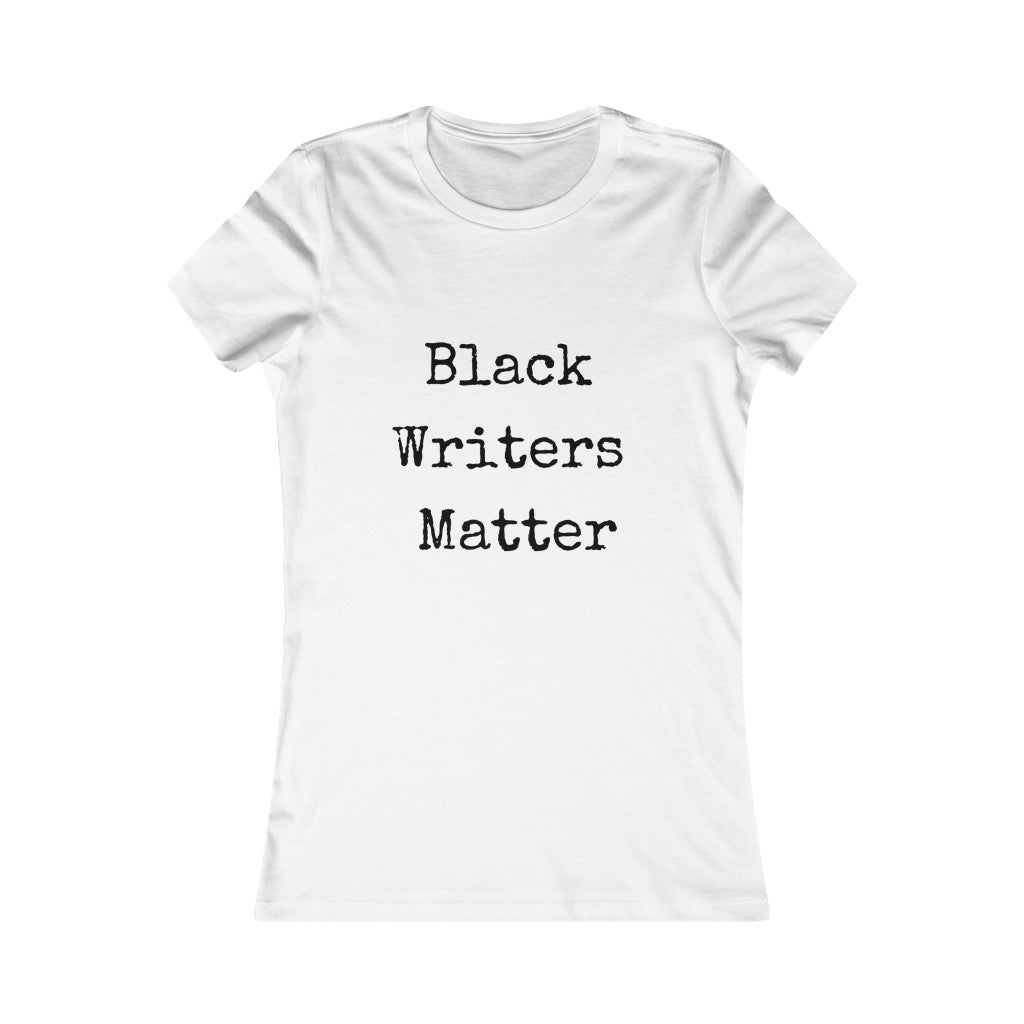Black Writers Matter Slim Tee