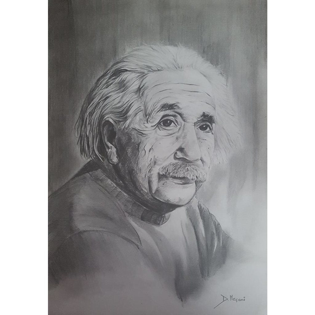 Worked with Pencil - Einstein