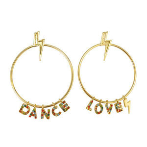 LOVE TO DANCE EARRINGS