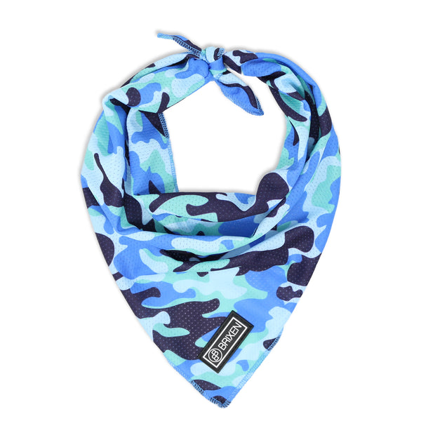 the camo dog bandana - BRIXEN