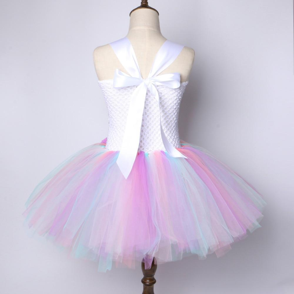 b995336859 ... Big Unicorn Store Kids Only Dress / 12M Girls Unicorn Party Dress -  Tutu Pastel Rainbow ...