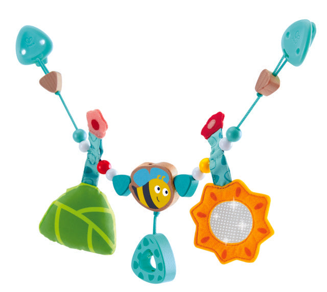 hape-bumblebee- pam-chain-The Toy Wagon