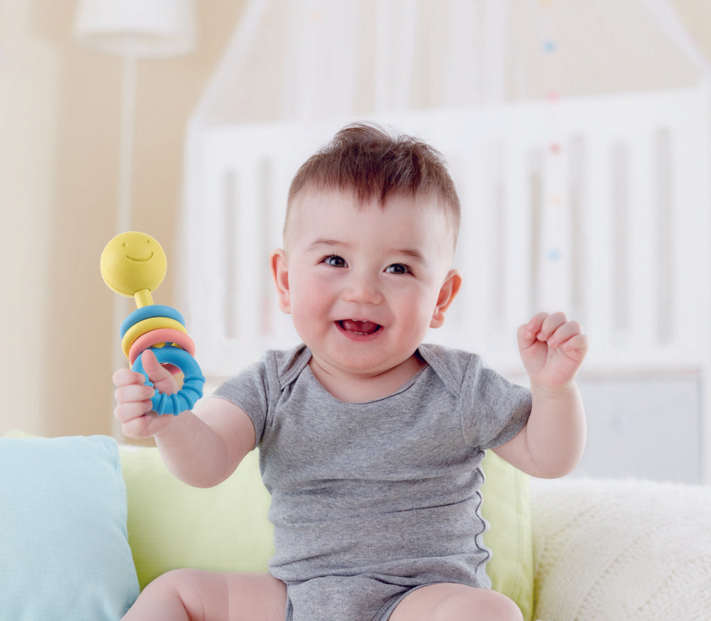 Hape Rattle & Teether Collection perfect for little hands, baby and new borns The Toy Wagon