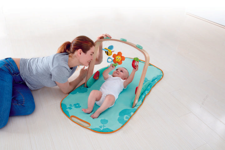Hape Portable Baby Gym perfect for baby and new borns The Toy Wagon