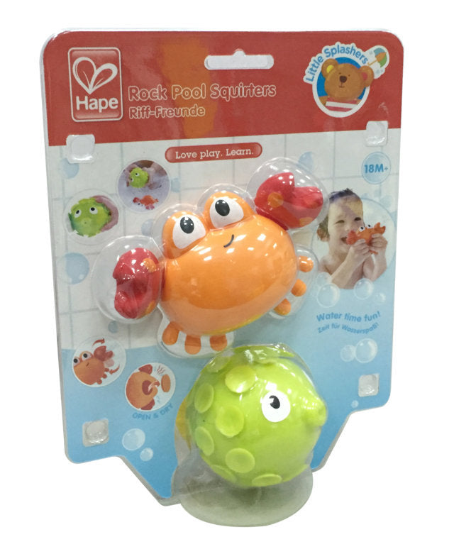 Hape Rock Pool Squirters makes bath time fun for babies The Toy Wagon