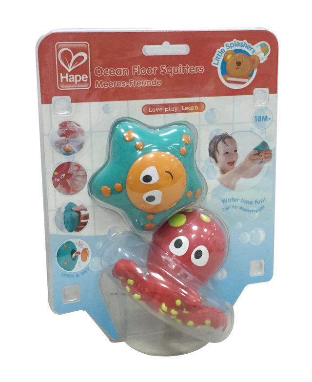 Hape Ocean Floor Squirters makes bath time fun for babies The Toy Wagon