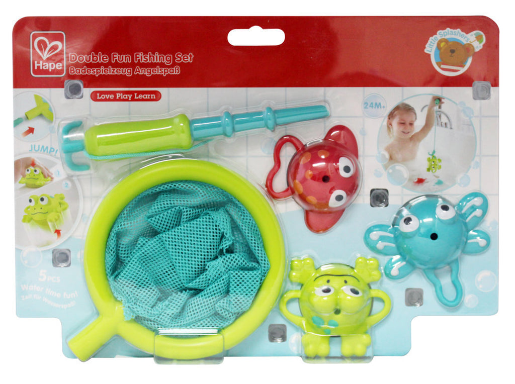 Hape Double Fun Fishing Set makes bath time fun for babies The Toy Wagon