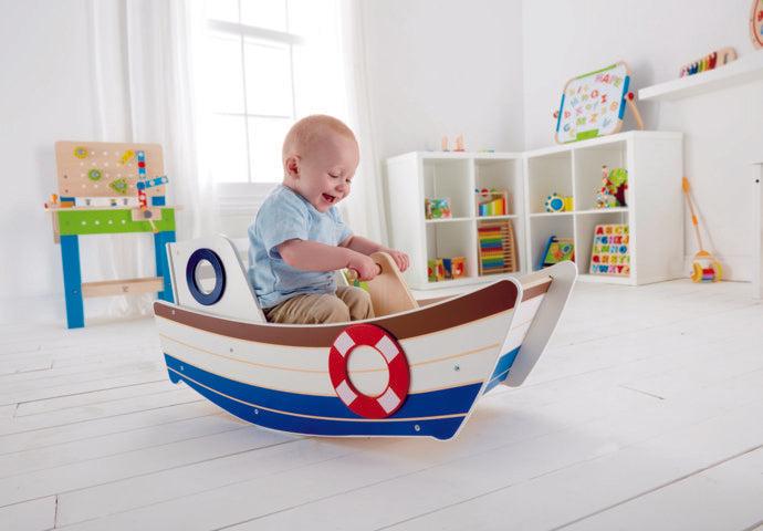 Hape High Seas Rocker a great first musical instrument for children The Toy Wagon