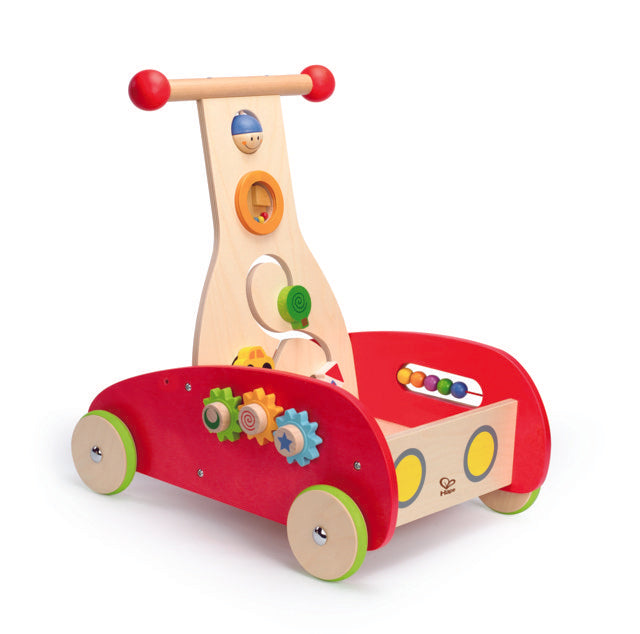 Hape Wonder Walker wooden promotes dexterity, hand eye coordinations, and manipulations The Toy Wagon