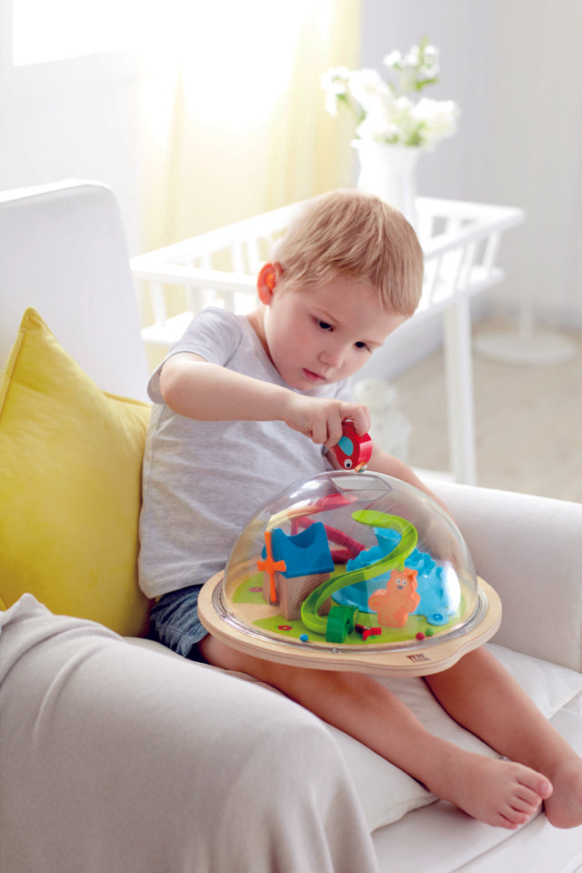 Hape Sunny Valley Adventure Dome perfect for hand educational toys The Toy Wagon