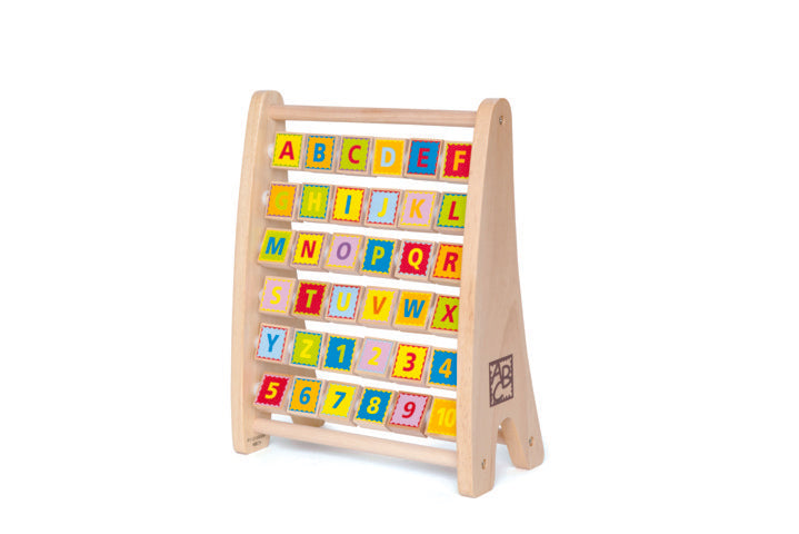 Hape Alphabet Abacus counting and educational toys The Toy Wagon