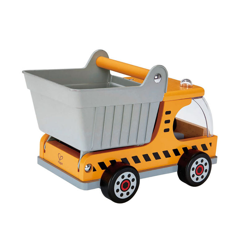 Hape Dumper Truck imaginative play quality wooden toys The Toy Wagon