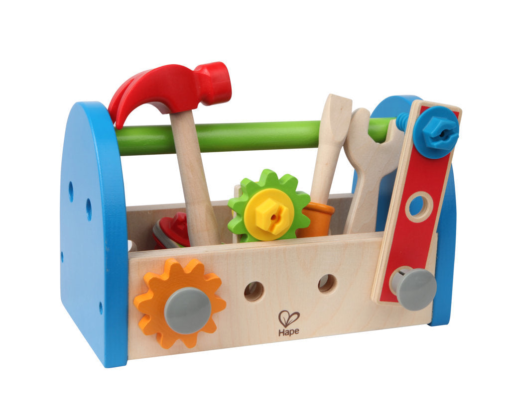 Hape Fix-It Tool Box imaginative play quality wooden toys The Toy Wagon