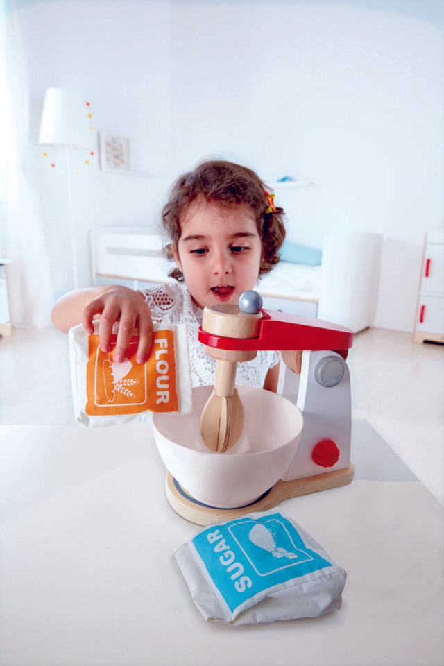 Hape Mix & Bake Blender imaginative play quality wooden toys The Toy Wagon