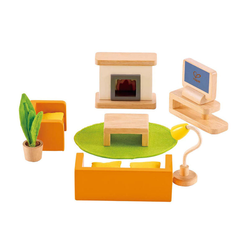 Hape Media Room imaginative play quality wooden toys The Toy Wagon