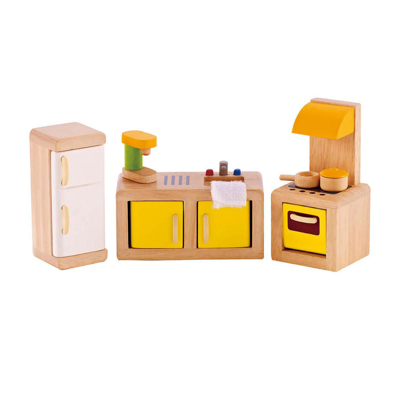 Hape Kitchen imaginative play quality wooden toys The Toy Wagon