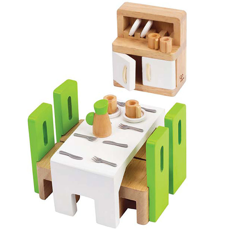 Hape Dining Room imaginative play quality wooden toys The Toy Wagon