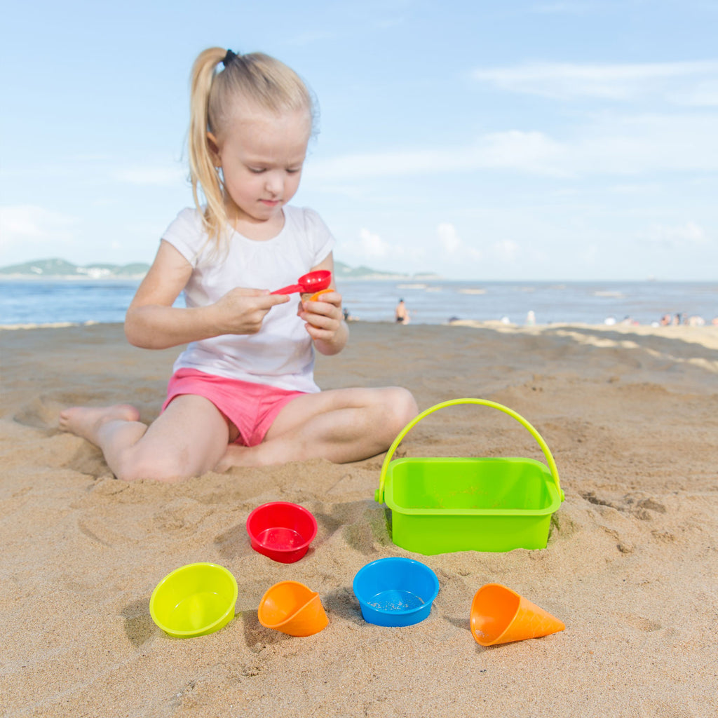 Hape Ice Cream Shop perfect for the sand or backyard play with quality outdoor toys The Toy Wagon