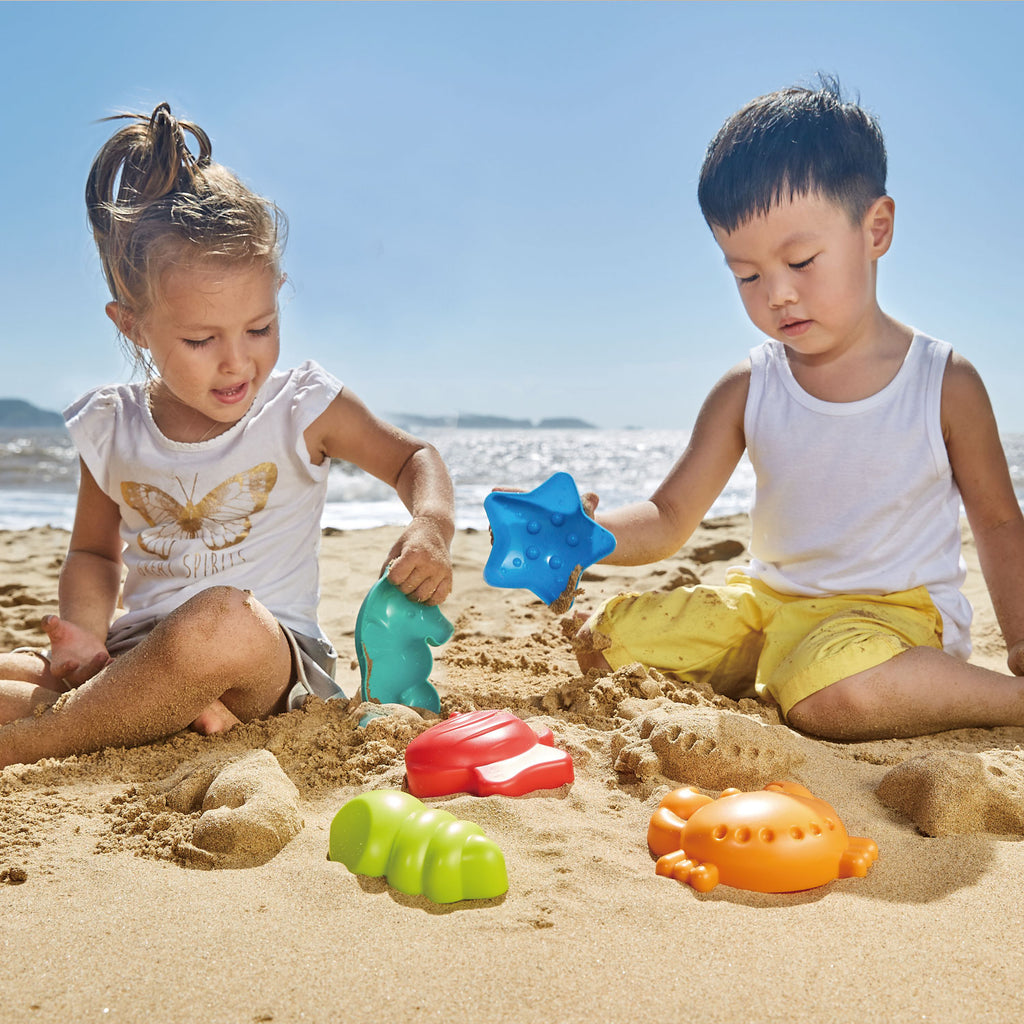 Hape Sea Creatures perfect for the sand or backyard play with quality outdoor toys The Toy Wagon