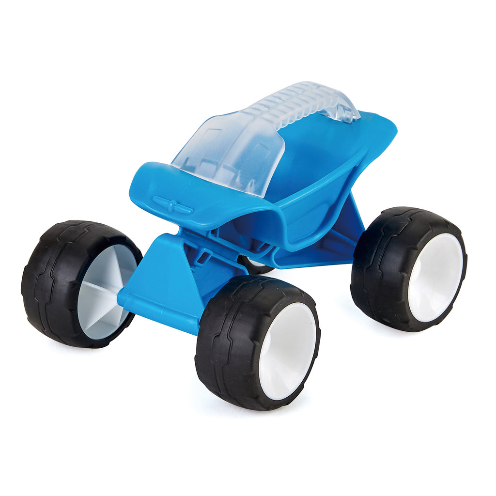Hape Dune Buggy Blue perfect for the sand or backyard play with quality outdoor toys The Toy Wagon