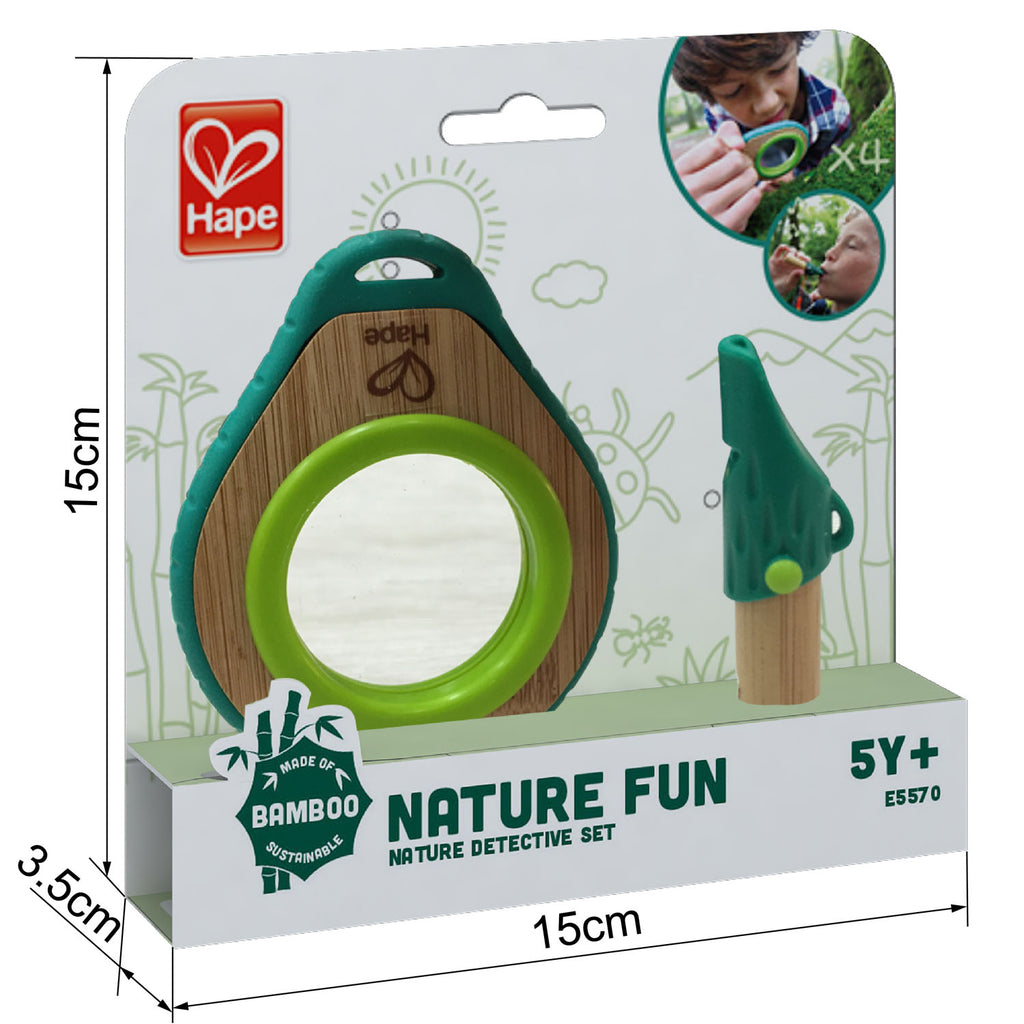 Hape Nature Detective Set for the backyard or out exploring high quality The Toy Wagon