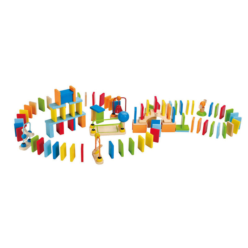 Hape Dynamo Dominoes perfect for little minds and hand, educational and high quality wooden toys The Toy Wagon